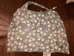 Boppy Nursing Cover, Grey With Flowers