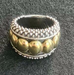 Lagos Caviar Ring Size 7