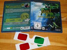 BUGS - ABENTEUER REGENWALD IN 3D / BLU-RAY (MIT 2X 3D-BRILLEN)