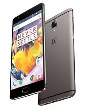 "OnePlus 3T 128GB Grey 16MP 5.5"" LCD 6GB RAM 16MP Android Phone by Fed-ex"