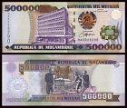 Mozambique 500000 Meticais 16-6-2003 Pick 142 SC = UNC