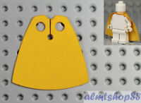Yellow Cloth Cape For LEGO Minifigures - Fabric Robe Cloak Batman Town City