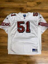 Vintage San Francisco 49ers ADIDAS Jersey MARTINEZ #51 NFL Sz.54 XXXL Rare Vtg