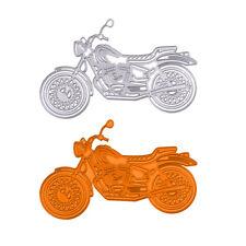 Motorcycle Metal Cutting Dies Stencil Scrapbook DIY Paper Cards Craft Embossing