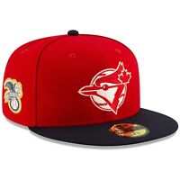 Toronto Blue Jays New Era Red/Navy 2019 Canada Day On-Field 59FIFTY Fitted Hat
