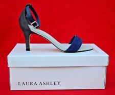LAURA ASHLEY:   SUEDE LEATHER STRAPPY SHOES UK SIZE 4 - BRAND NEW BOXED!!
