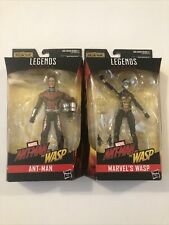 Marvel Legends -Scott Lang and Hope (Ant-Man and The Wasp)(no Cull Obsidian BAF)