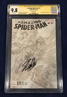 Amazing Spider-Man #1 Ross Sketch Variant CGC 9.8 Signed by Stan Lee on 11/4/18!