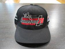 Vintage Mark McGwire Snap Back Hat Cap Black 1996 Homerun St Louis Cardinals 90s