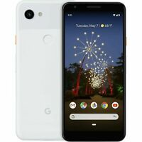 Google Pixel 3a XL - 64GB - Clearly White / Just Black (Unlocked) Smartphone