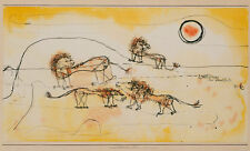 A Pride of Lions-Take Note by Paul Klee 1924 75cm x 45.4cm Quality Art Print