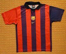 1999 FC Barcelona, Vintage Training Shirt by Nike, Boys Youth XL 18-20