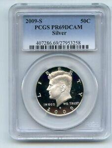 2009 S 50C Silver Kennedy Half Dollar PCGS PR69DCAM