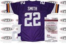 Harrison Smith Signed Custom Pro Style Jersey JSA Witnessed Vikings