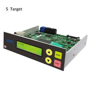 Acard 1 to 5 CD DVD Burner Disc Duplicator Controller + SATA cables