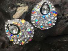 Butterfly Alloy Cluster Costume Earrings