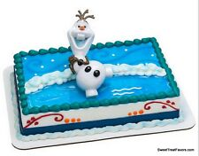 Frozen Olaf Cake Decoration Party Supplies TOPPER KIT Favor Disney Snow Movie NW