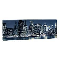 New York-Panoramabild  Leinwand Poster Wandbilder XXL 150 cm*50 cm 088