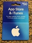Apple App Store & ITunes $50 Physical Gift Card USA For Sale