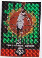 2019-20 Panini Mosaic Green Prizm  Jam Masters Tracy McGrady #11 SSP