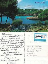 1993 CALA D'OR MALLORCA SPAIN COLOUR POSTCARD