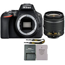 Nikon D5600 24.2 MP DSLR Wi Fi Camera with 18-55mm AF-P DX f/3.5-5.6G VR Lens
