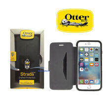 OTTERBOX Strada Series Leather Wallet Case for iPhone 6 6s Plus Oc20 Black