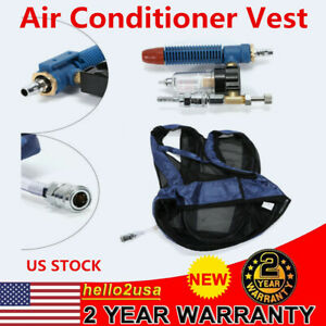 Vortex Tube Air Conditioner Waistcoat Compressed Cooling Vest For Welding Word