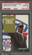 1992-93 Skybox Draft Picks Shaquille O'Neal Orlando Magic RC Rookie HOF PSA 10