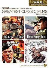 Greatest Classic Films:Battlefront Europe. 4 Greats. Brand New In Shrink!