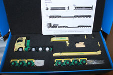 KK Conrad 70200 MAN TGX 8X4 + Goldhofer semirimorchio COLLO CIGNO HN 3 + 4 assi