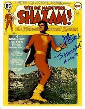 """Jackson Bostwick Signed & Inscribed """"Shazam"""" 8x10 Photo"""