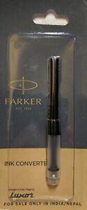 Parker Fountain Pen Converter New Sealed