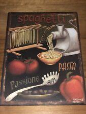 Tin Signs Retro Italian Food Souvenir Wedding Bar Kitchen Garage Decor