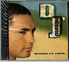 DJ Negro  Quiero Un Amor     BRAND  NEW SEALED  CD