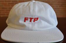 FTP HUF 6 PANNEL SNAP BACK WHITE FU$K THE POPULATION  SUPREME SUPER RARE HAT HUF
