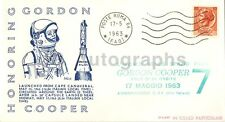Mercury-Atlas 9 - Vintage Commemorative Postal Cover - Rome, Italy