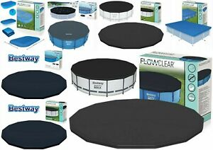 BESTWAY SWIMMING POOL ABOVE GRAND COVER 10FT,12FT,14FT,15FT,16FT