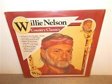 Willie Nelson . Country Classics . CSP . Shrink Wrap . Near Mint . LP