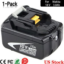 18V 3.0Ah FOR MAKITA 18-volt LITHIUM ION BATTERY LXT BL1860B BL1830 US Stock