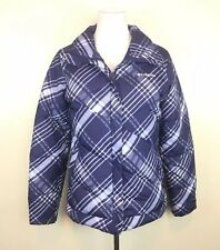 Columbia Snow Trinity Down Puffer Bomber Jacket / Youth Girls XL