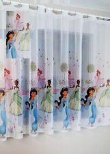 Luxury Disney PRINCESS JASMINE Net Curtain Slot Top 150cm x150cm