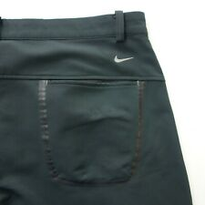 Mens Nike Golf Pants Size 35X31.25 Tour Performance Dri-Fit Black