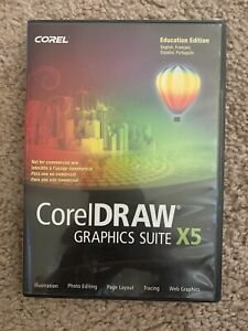 CorelDraw Graphics Suite X5 Illustration Photo Editing Page Layout Tracing Web