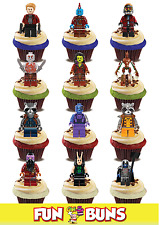 Guardians of the Galaxy Lego Character Edible Standup Cake Toppers Mix  Kids Fun