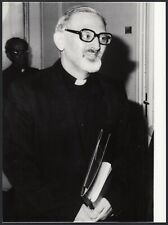 YZ9547 Roma 1983 - Padre Peter Hans Kolvenbach dopo elezione - Foto 18 x 24