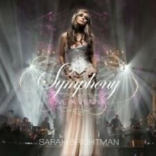 Symphony Live in Vienna by Sarah Brightman Audio CD Discs 1 Traditional Pop 200