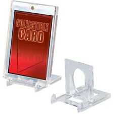 5 Ultra Pro Small 2 Piece Card Stands Lucite Holder Display