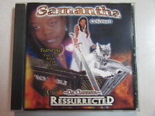 SAMANTHA COLEMAN RESURRECTED 2003 17 TRK CD HIP HOP G-FUNK RAP BE YE HOLY OOP