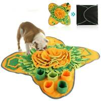 Sniffing Training Puzzle Cat Snuffle Mat Pet Toy Nose Dog Work Ruffle Toys Game